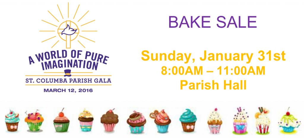 Spring Gala Bake Sale